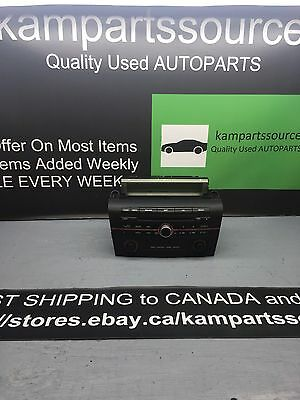 2004 05 06 07 08 09 Mazda 3. Am/ FM Radio Cd Player With Top Display