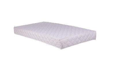 """BABY COT BED TODDLER QUILTED FOAM MATTRESS WATER RESISTANT 63""""x27"""" (160x70CM)"""