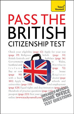 Pass the British Citizenship Test: Teach Yourself, Good Condition Book, Walmsley