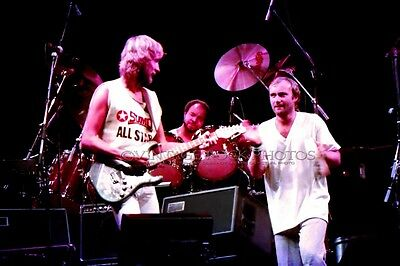 Phil Collins Genesis Photo 8x12 or 8x10 inch '70s Live Concert Pro Fuji Print 7