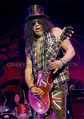 SLASH Photo 8x12 or 8x10 in Live Concert Oct 2012 Manchester Apollo UK Print s6