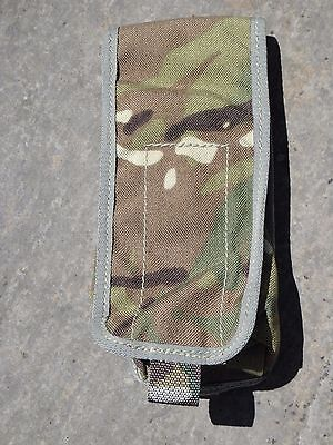 British Army MTP Sharpshooter Pouch MK IVA 3 Mag Ammo Pouch Molle New & Used