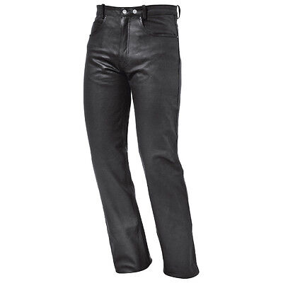 Held Chace Black Moto Motorcycle Motorbike Mens Leather Jeans All Sizes