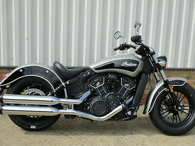 2017 Indian Scout Sixty...two tone black silver...Instock now