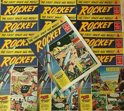 My Complete 1950's Rocket Comic Collection All 32 Issues