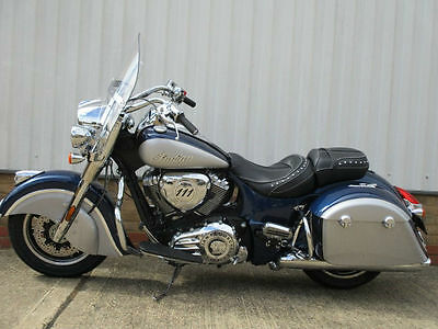 2017 Indian Springfield.....blue silver...5yr warranty....In Stock