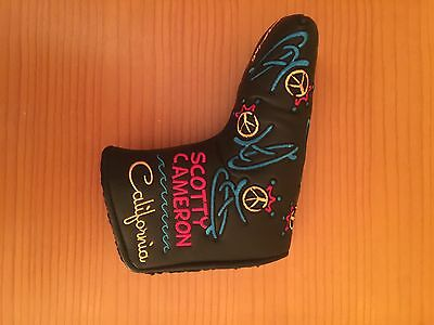 Scotty Cameron Peace Surf Love Golf Putter Headcover