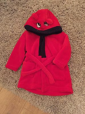 Baby Boys Dressing Gown Age 9-12 Months