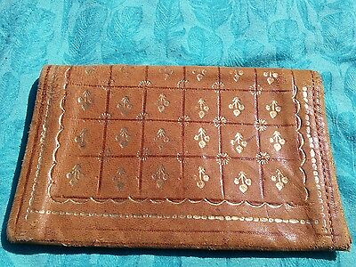 Monsoon leather wallet