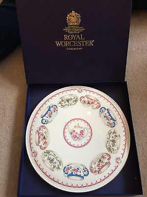 Royal Worcester Cup of Cups cake plate