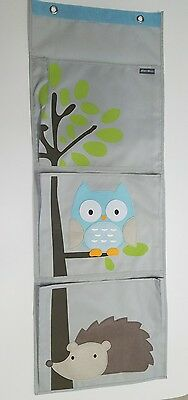Eddie Bauer  Hanging Organizer, owl & hedgehog with tree for toys, books, shoes