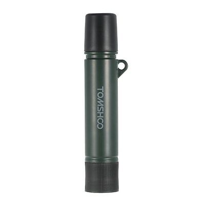 TOMSHOO 1500L Water Filter Straw Purifier Outdoor Emergency Survival Gear Hiking
