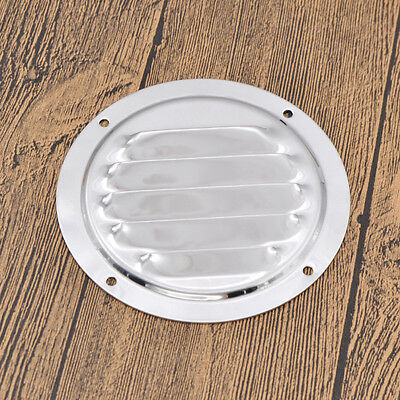 Stainless Steel Round Marine Yacht Vent Cover Louvered Ventilation Accessories