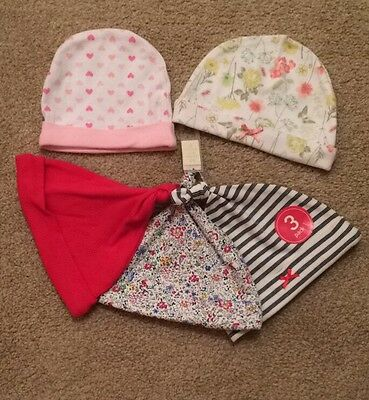 baby girls hats-size 3-6 months-BNWT