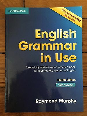 Livre d'anglais : English Grammar in Use (4ème édition) Raymon Murphy