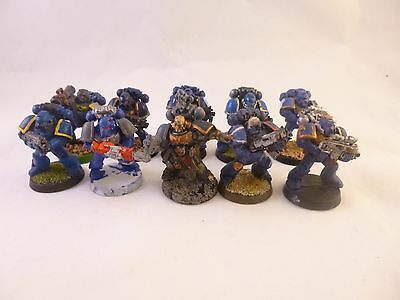 Warhammer 40k Space Marines Ultramarines Tactical squad