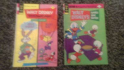 WALT DISNEY 1974 1975 Volume 35 #1 #3 Comics and Stories Nice Lot of 2