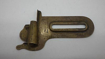 VERY RARE Antique 1874 Singer Sewing Machine BRASS Attachment Accessories