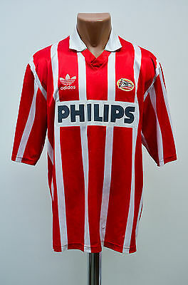 Psv Eindhoven 1990/1991/1992/1993/1994 Home Football Shirt Jersey Adidas Holland