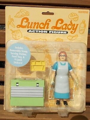 Lunch Lady Action Figure Serving Station SNL Toy Figurine NEW