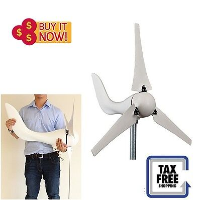 400W 12V Wind Turbine Generator Kit DIY Alternative Energy Marine Wind Generator