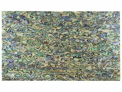 Incudo™ Green Abalone Laminate Shell Veneer Sheet, 240 x 140mm