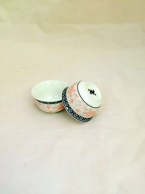 Traditional Chinese porcelain tea cup set_ Comes in PAIR
