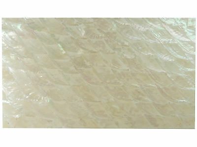 "Incudo™ Korean Abalone ""Donkey Ear"" Laminate Shell Veneer Sheet, 240 x 140mm"