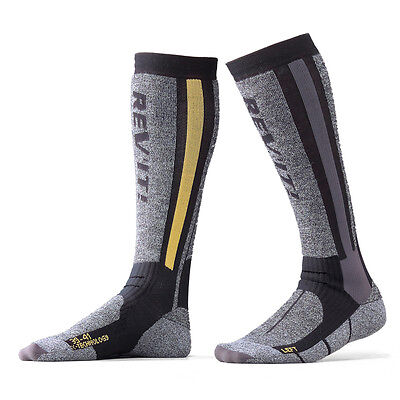 Rev'it! Tour Winter Touring Motorcycle Motorbike Bike Socks Pair Rev it Revit