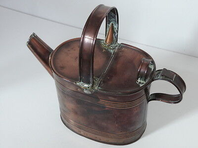 Antique Old Copper Watering Can