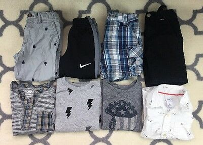 Toddler Boys Clothes Lot Overalls 3T Lot carter's nike hanna andersson hurley