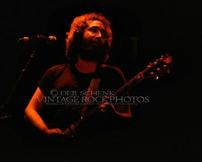 Jerry Garcia Grateful Dead Photo 8x10 inch '77 Memorial Hall Kansas City KS D22