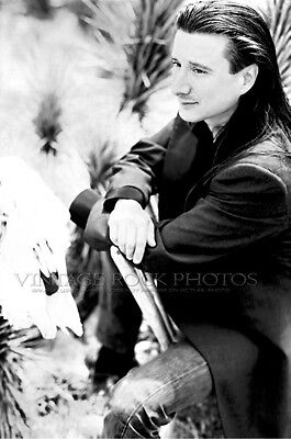 Steve Perry Journey Photo 8x12 or 8x10 inch 1980's Candid Shot Pro Lab Print 42b