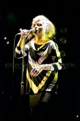 Deborah Harry Blondie Photo 8x12 or 8x10 inch '80s Live Concert Pro Fuji Print 6