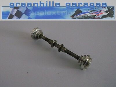 Greenhills Scalextric Mini Cooper C76 Rear Axle & Wheels Used P2268