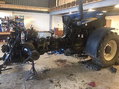 New Holland Tm 60 Series Range Command Transmission Repair Gearbox