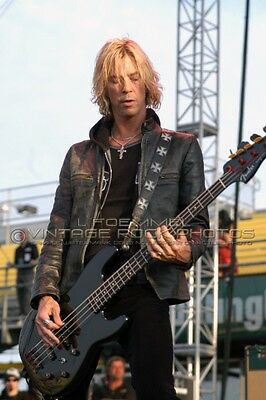 "Duff McKagan Velvet Revolver Photo 8x12 or 8x10"" May '07 Columbus OH Concert L58"
