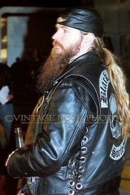 Zakk Wylde Photo 8x12 or 8x10 inch Candid Backstage Exclusive Rare Pro Print 15