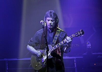 Steve Hackett Photo Genesis Revisited Tour 8x12 or 8x10 in '13 Liverpool UK s25