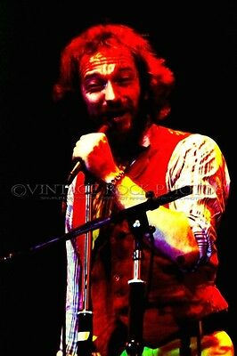 Jethro Tull Ian Anderson Photo 8x12 or 8x10 inch Live '70s Live Concert Print 22