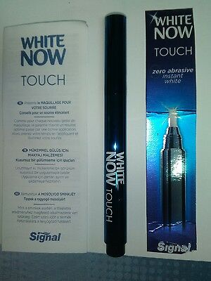 signal white now touch