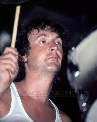 Nick Mason Pink Floyd Photo 8x10 inch Live Concert '77 In The Flesh Tour 83-2