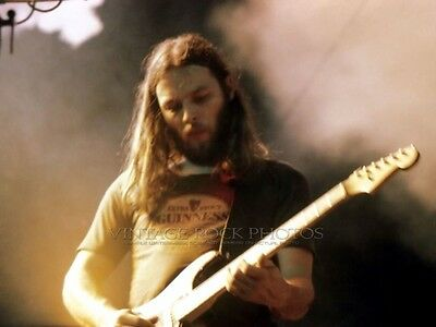 David Gilmour Pink Floyd Photo 8x10 inch Live Concert '75 Wish You Were Here 192