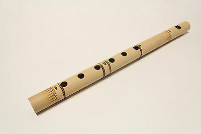 "12"" Traditional Bamboo Flute  Handmade In Bali"