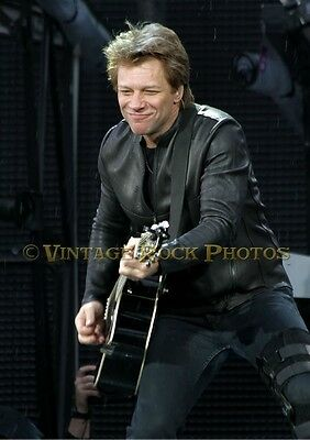 Jon Bon Jovi Photo 8x12 or 8x10 inch Live Concert 6-'11 Manchester UK s12