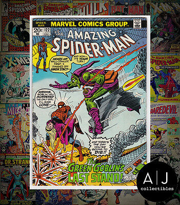 The Amazing Spider-Man #122 (W Marvel M) FN! HIGH RES SCANS!