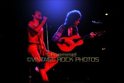 Freddie Mercury, Brian May Queen Photo 8x12 or 8x10 inch Live 70's Concert  L9