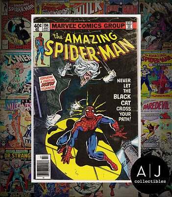The Amazing Spider-Man #194 (W Marvel M) VG! HIGH RES SCANS!