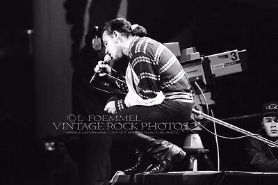 BONO, U2 Photo 8x12 or 8x10 inch '80s Live Concert from Orig 35mm Negative L28