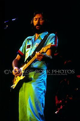 Eric Clapton Poster 12x18 inch Pro Photo  '75 There's One In Every Crowd Tour 87